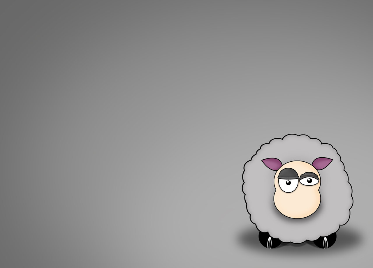 sheep wallpaper